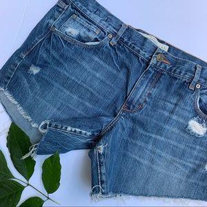 Abercrombie & Fitch | Cutoff Jean Shorts | 31